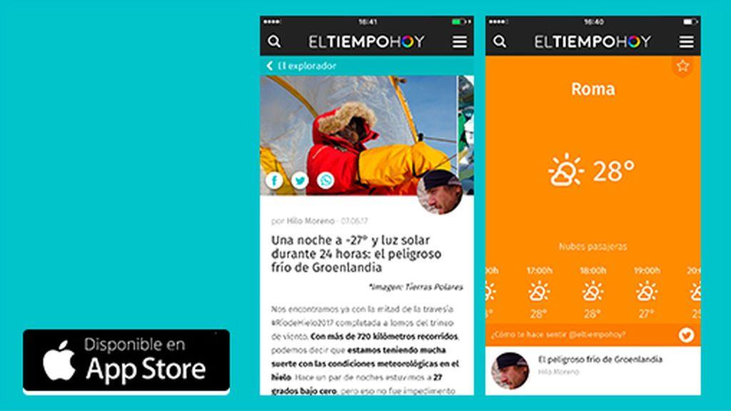La app para iOS