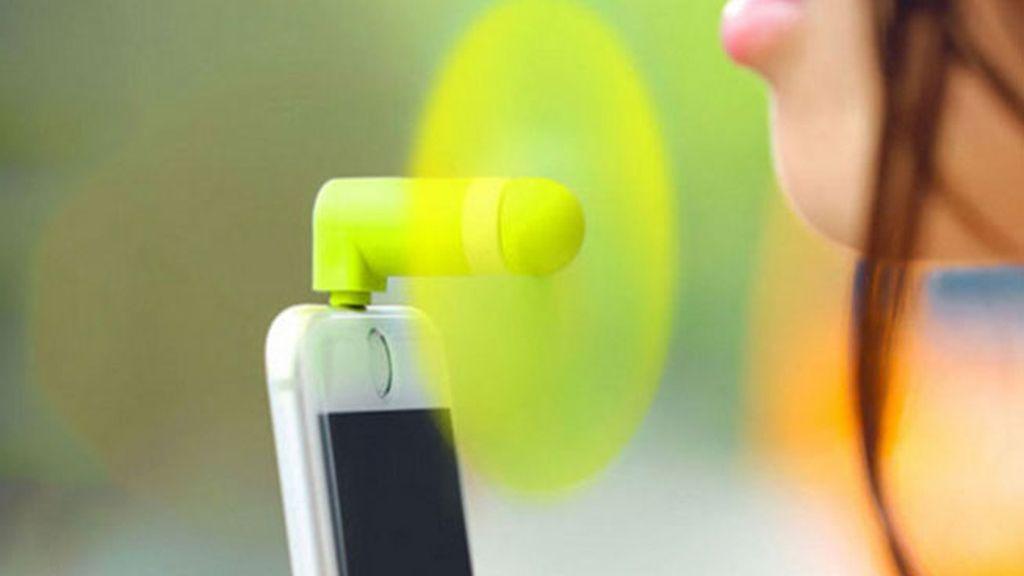 Ventilador-móvil: para los adictos al 4G