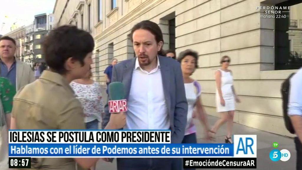 Pablo Iglesias, ¿de chaqueta para postularse a presidente?