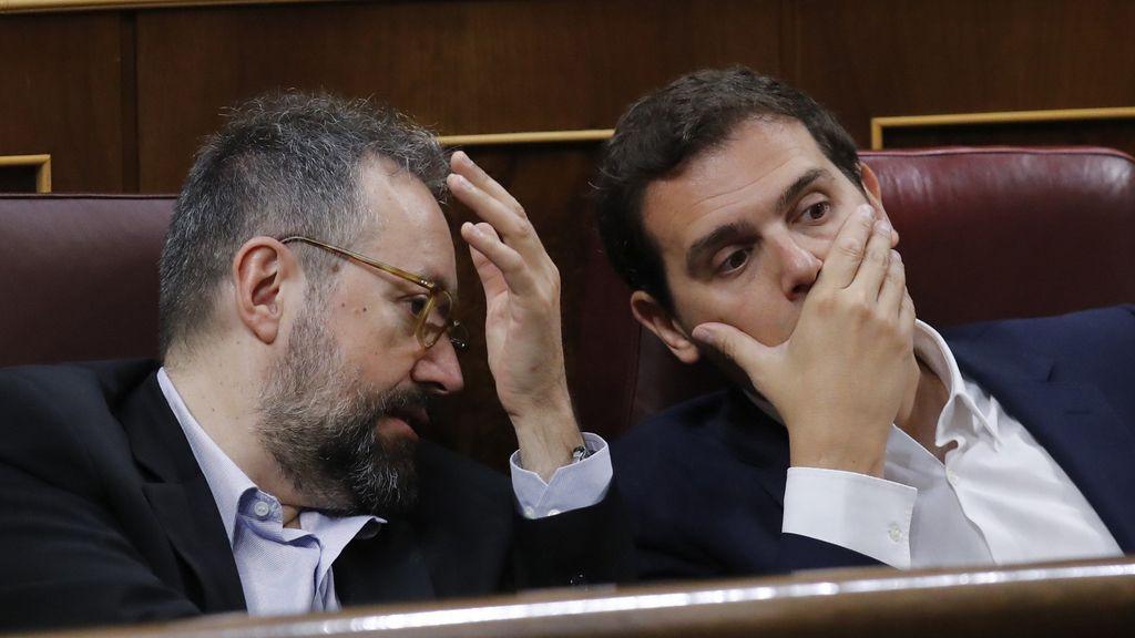 Confesiones entre Rivera y Girauta