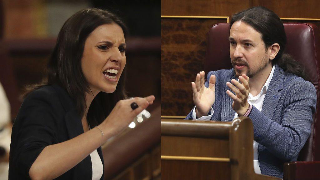 Una diputada del PP arremete en Twitter contra Iglesias y Montero y borra los tweets