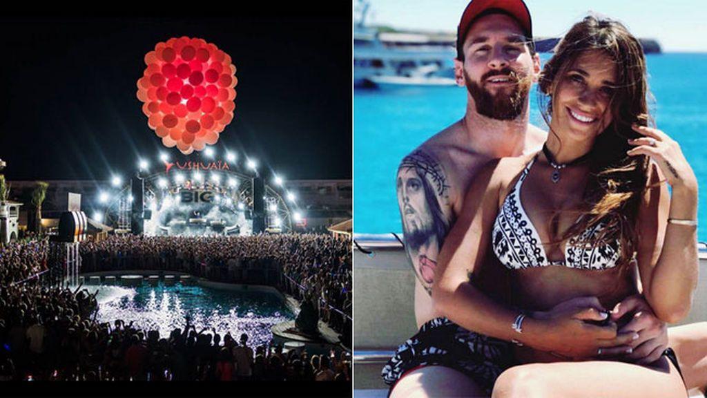 ¡Champán a 5.000 euros y sesión de DJ Guetta! Así es el fiestón de Messi y Suárez en Ibiza