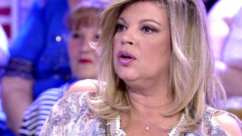"""Terelu Campos, de Toño Sanchís: """"Me llama c... y luego me saluda"""""""