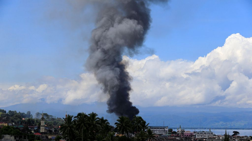Incendio en Filipinas