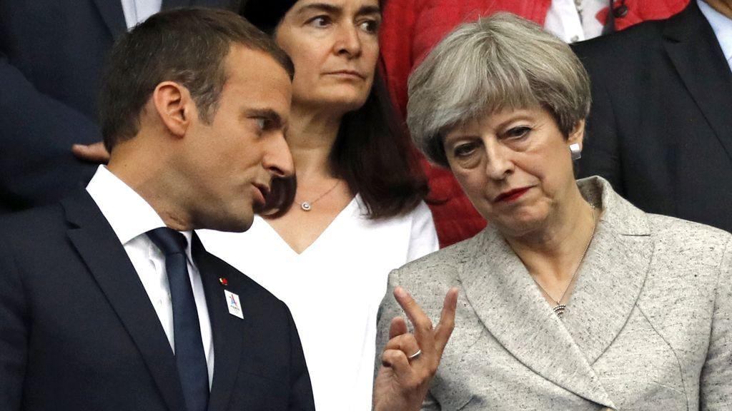 """Macron y May acuerdan elaborar un """"plan de acción antiterrorista"""""""