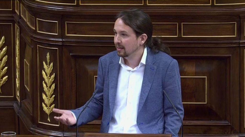Las frases más destacadas del discurso de Pablo Iglesias