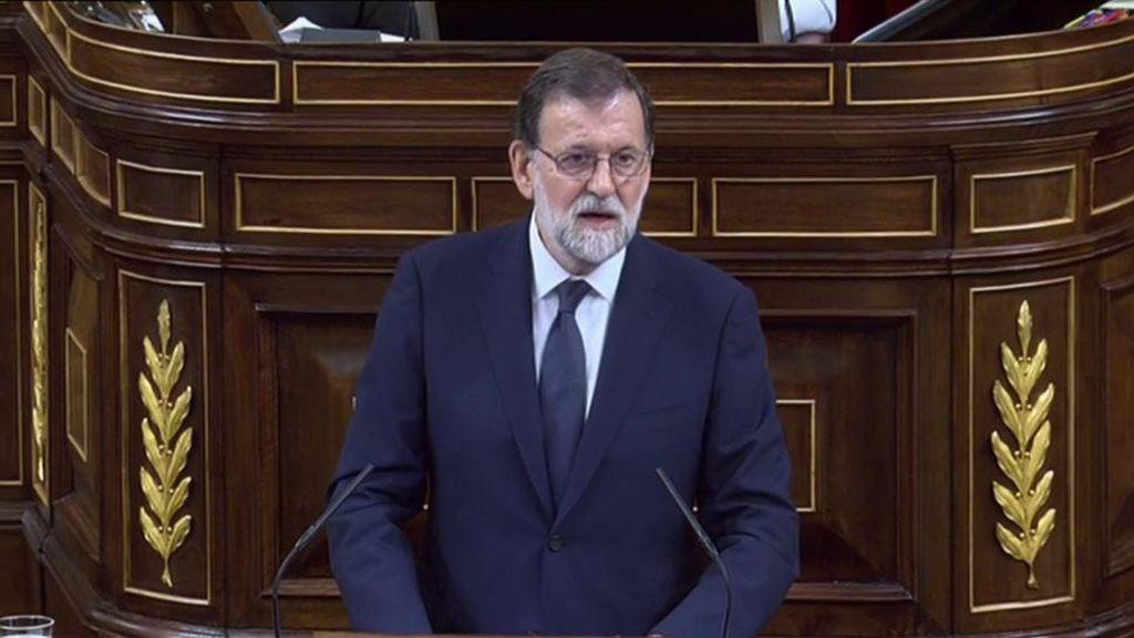 Mariano Rajoy contesta a las duras acusaciones de Irene Montero