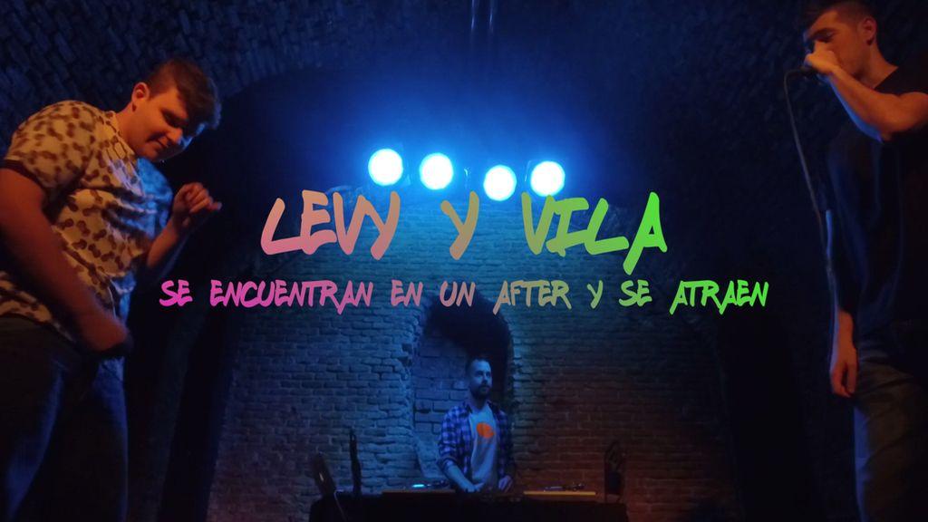 Andrea Levy y Miguel Vila improvisan un affaire en la discoteca