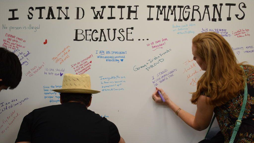 Campaña de apoyo a los inmigrantes en EEUU