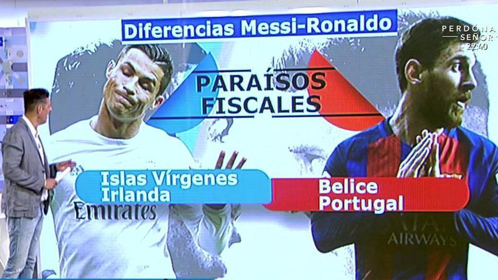 ¿Que diferencias y similitudes hay entre el caso de Messi y el de Cristiano Ronaldo?