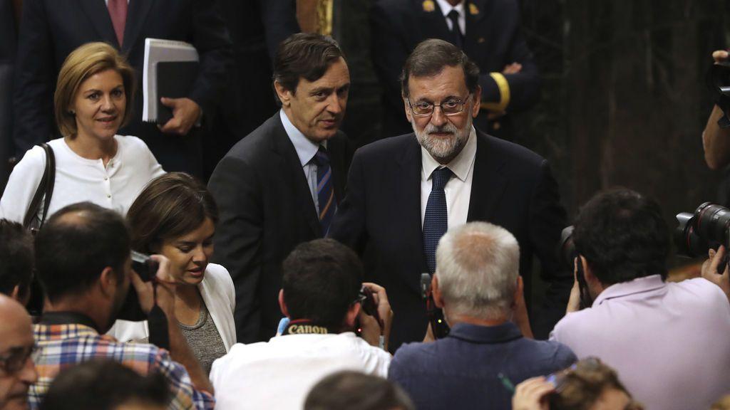 Moción de censura: El Congreso rechaza relevar a Rajoy por Pablo Iglesias