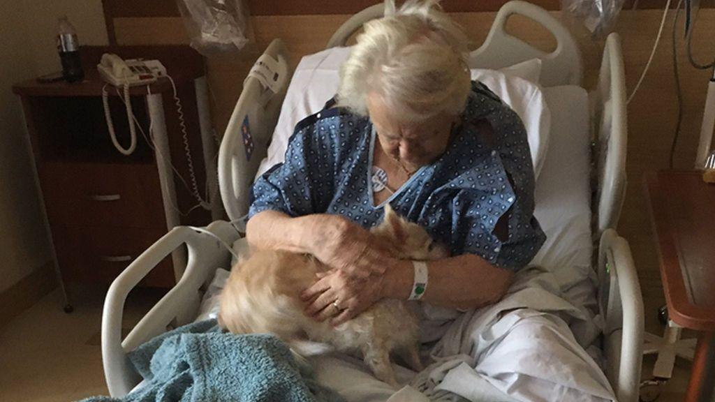 El gesto a su abuela ingresada, que ha emocionado a la Red