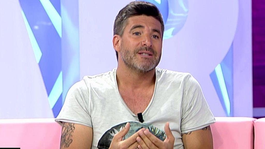 """Toño Sanchís. """"Le deseo una pronta recuperación a Belén Esteban"""""""