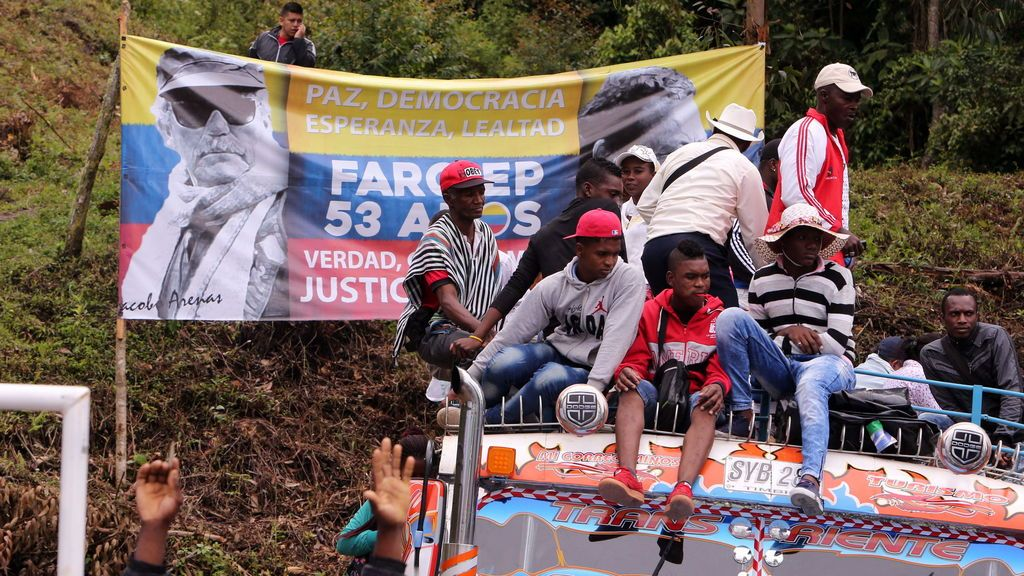 Colombia celebra la entrega de armas de las FARC