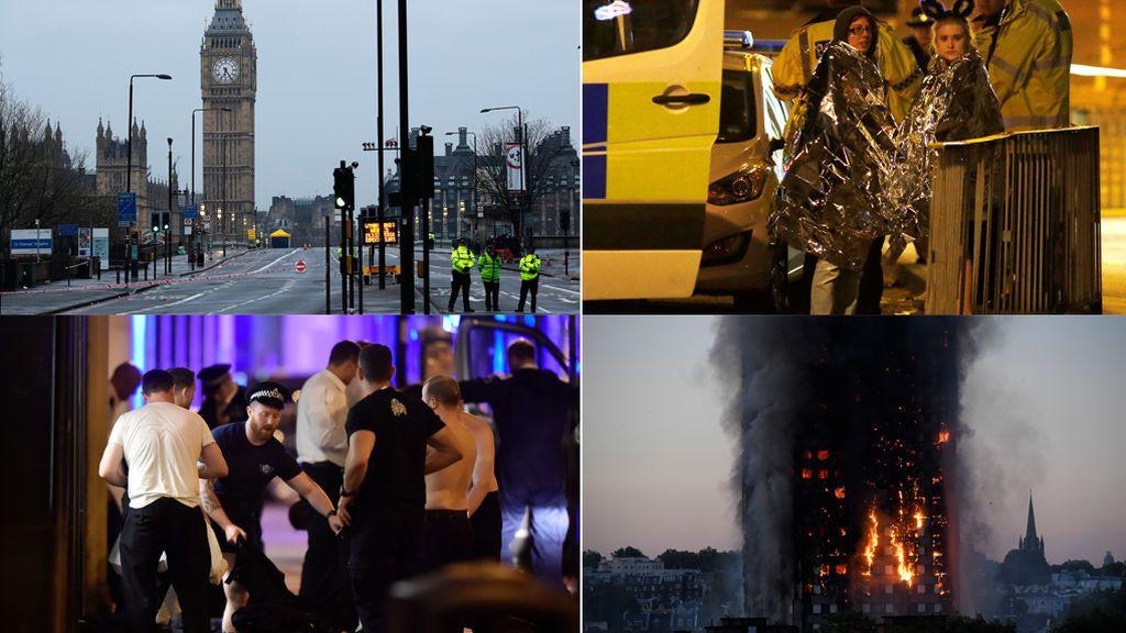 "Atentados, incendios... el ""annus horribilis"" del Reino Unido"