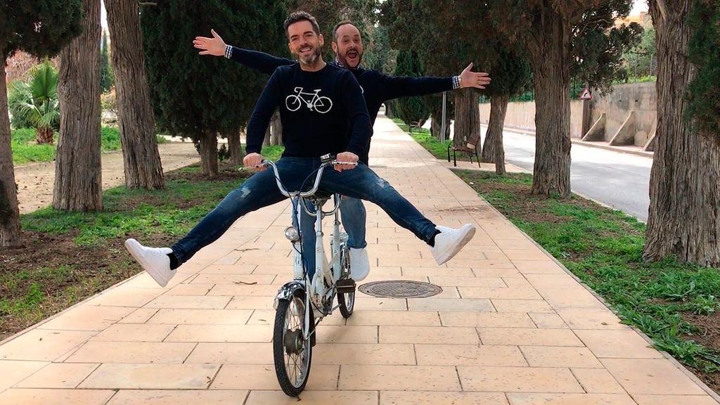 Cuqui, llévame en tu bicicleta