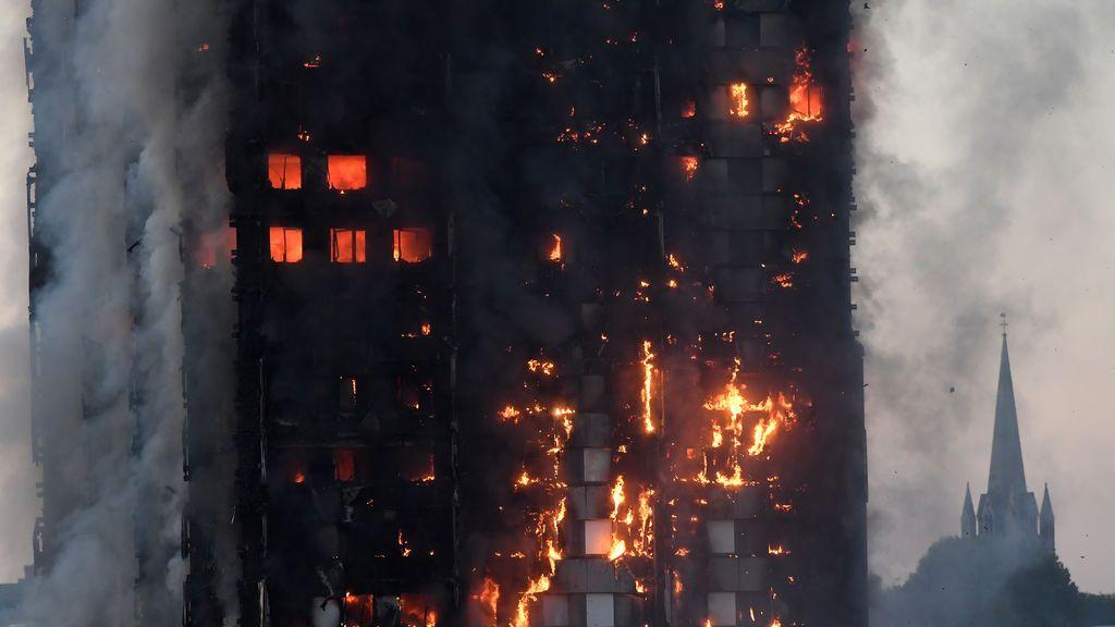 Incendio en la Torre Grenfell de Londres