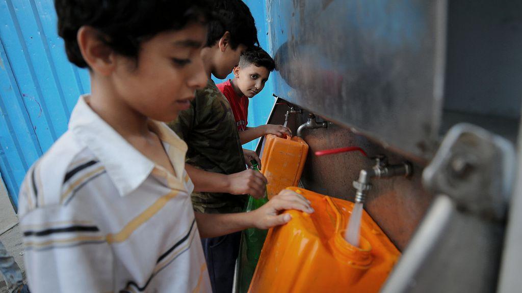 Gaza se muere de sed