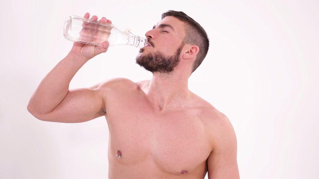 Vas a necesitar un buen vaso de agua