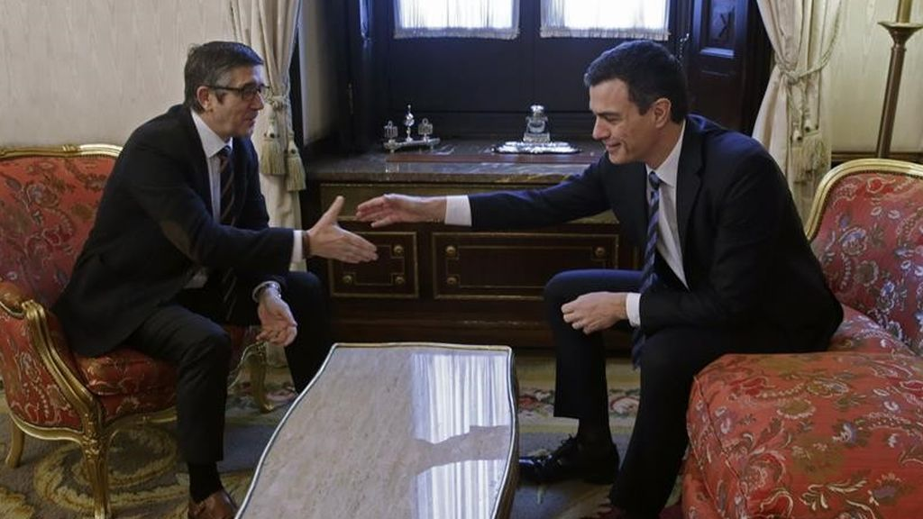 Patxi López acepta entrar en la Ejecutiva de Pedro Sánchez para ocuparse de la política territorial