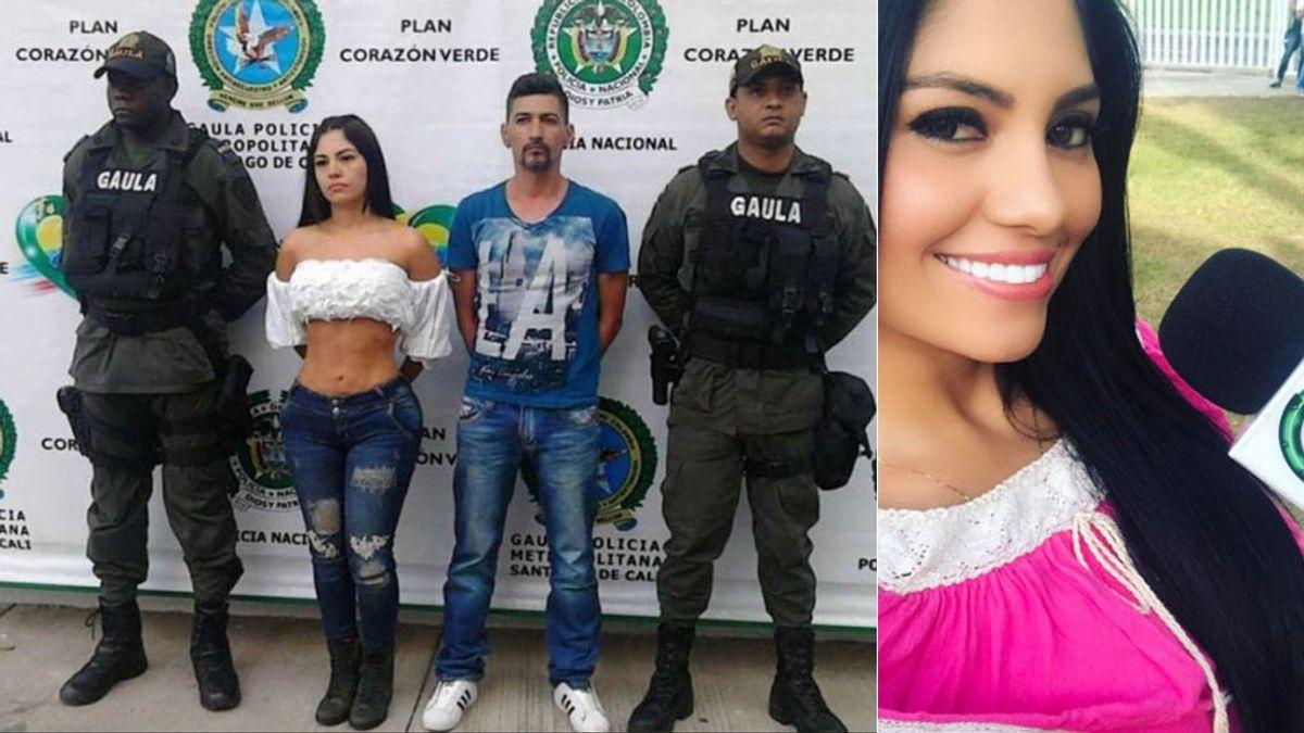 Detenida por secuestro una presentadora y modelo colombiana