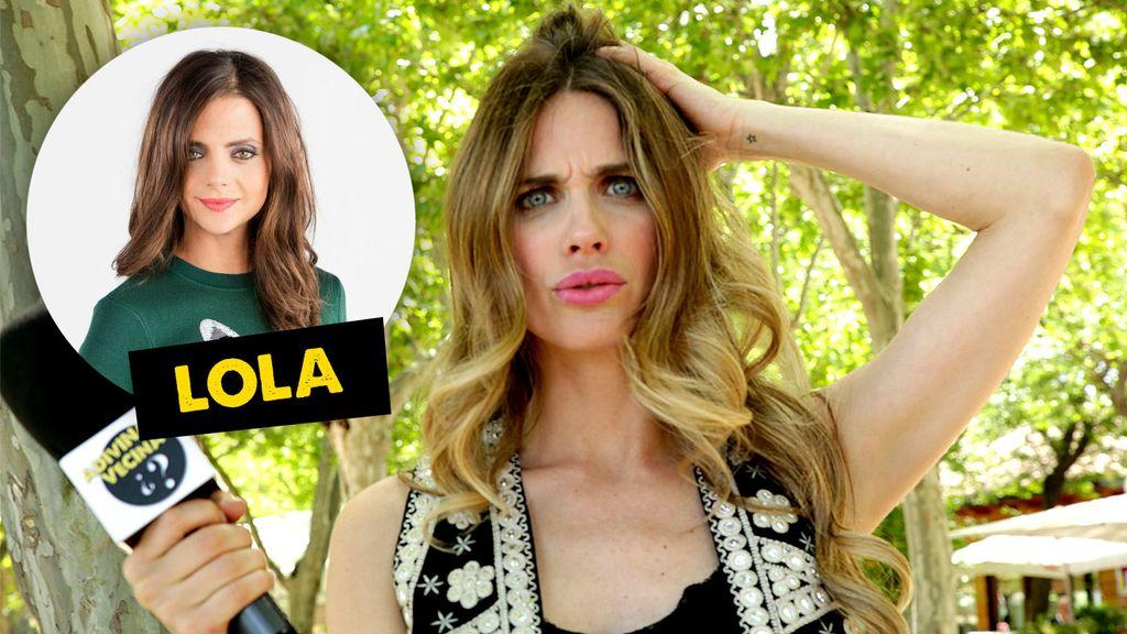 Lola, una actriz con mucho teatro