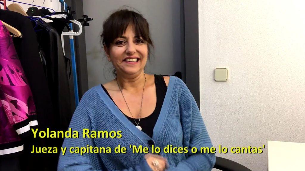 """Yolanda Ramos vuelve a Tele 5 como juez de famosos cantando: """"Ya tengo un favorito"""""""