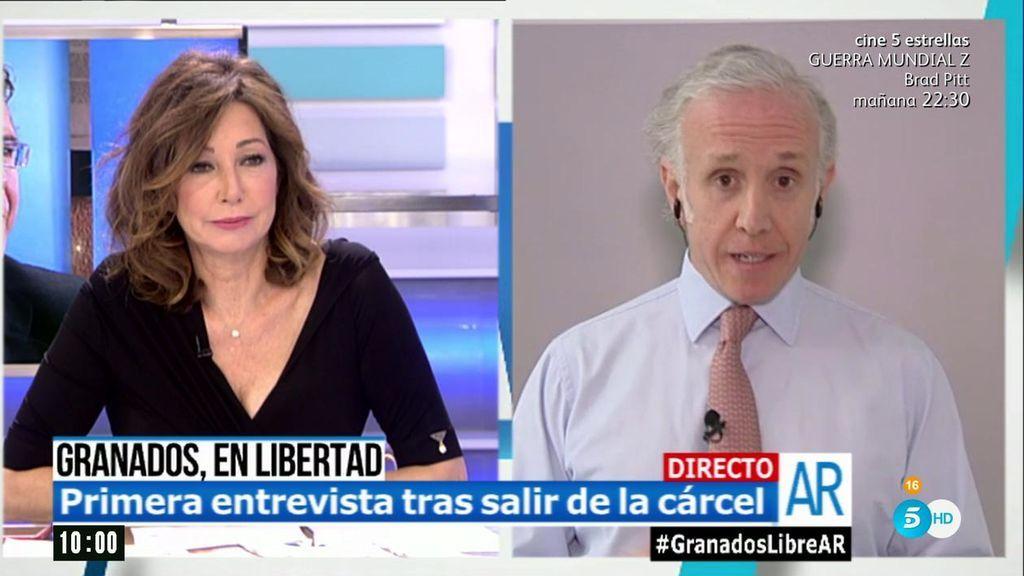 """Eduardo Inda: """"Granados tiene dos fijaciones tras salir de prisión: Cifuentes y Marjaliza"""""""