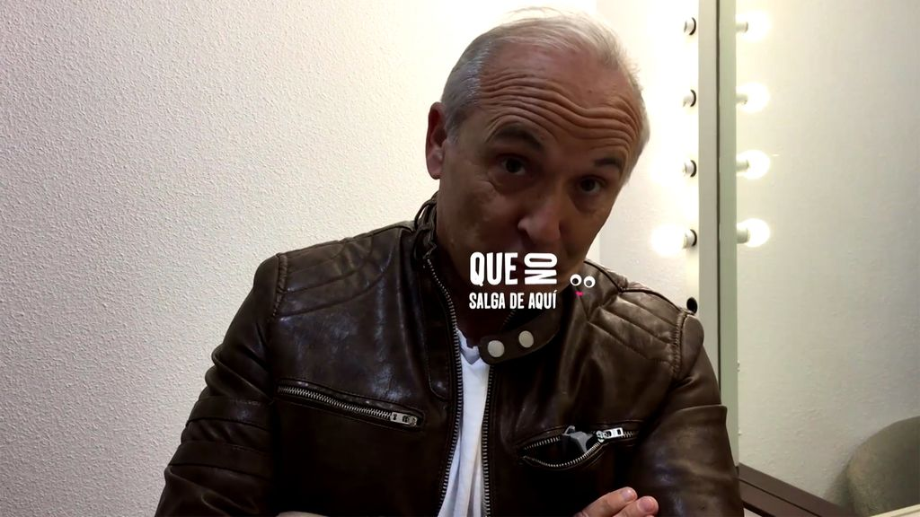 """Xavier Deltell nos abre su camerino en 'Me lo dices o me lo cantas': """"Lo mío es hacer reír"""""""