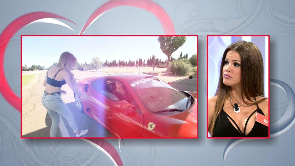 Después del paracaídas... Bienve sorprende a Fabio con un paseo en Ferrari