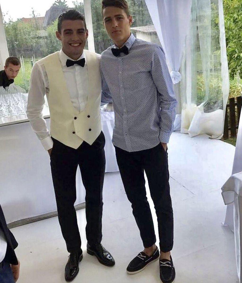 Mateo Kovacic e Izabel Andrijanic, marido y mujer tras una marchosa boda