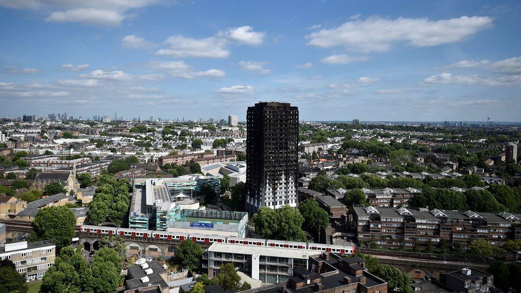 La Policía de Londres eleva a 58  las personas fallecidas por el incendio de Grenfell