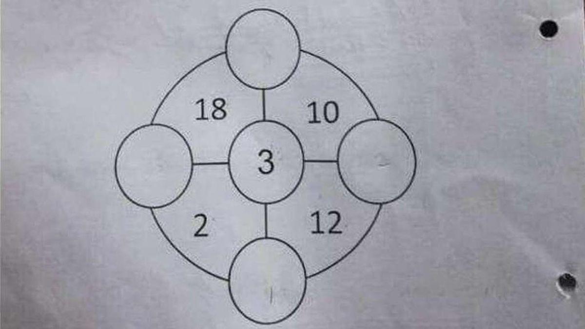Un problema matemático planteado a niños de Singapur que trae de cabeza a la Red