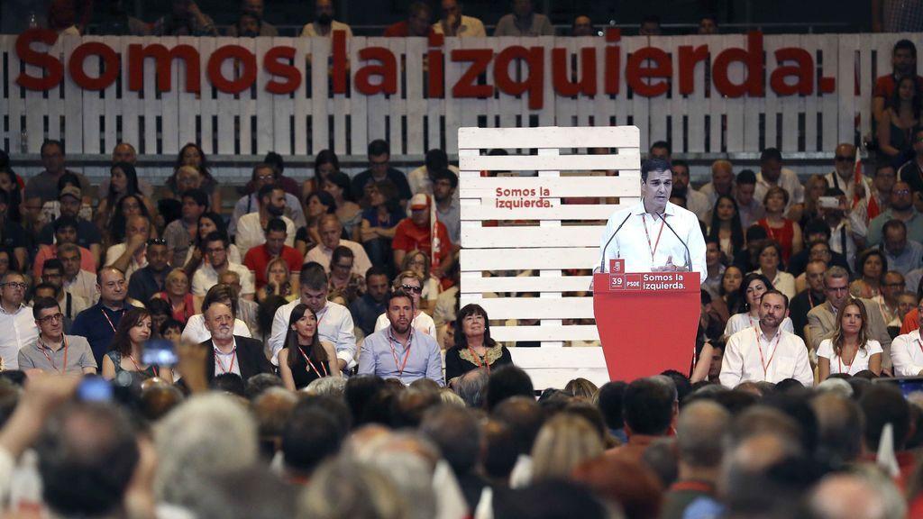 El 70,5 por ciento de los delegados aprueban la nueva Comisión Ejecutiva del PSOE
