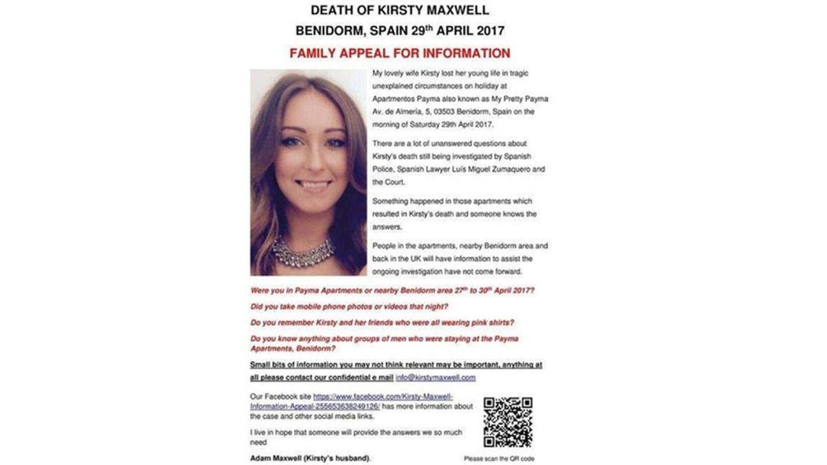 El padre de una británica pide ayuda para conseguir información de la mujer de su hija en Benidorm