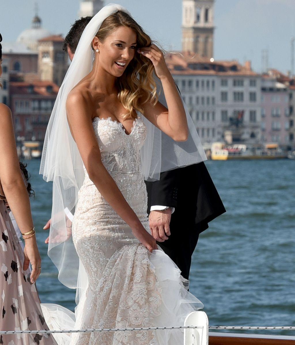 Las imágenes de la boda más romántica de Álvaro Morata y Alice Campello en Venecia
