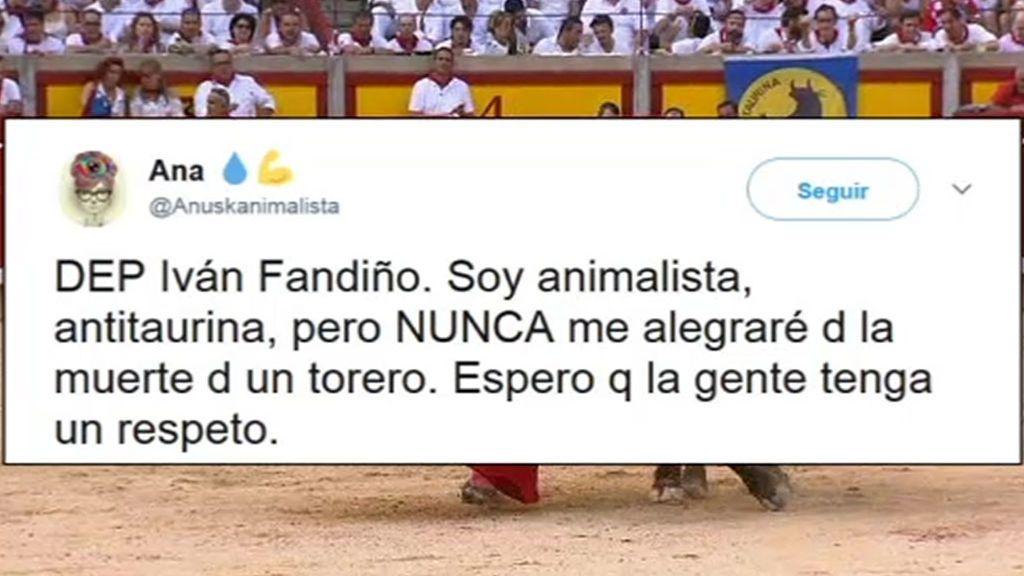 Polémica en las redes sociales tras la muerte de Iván Fandiño