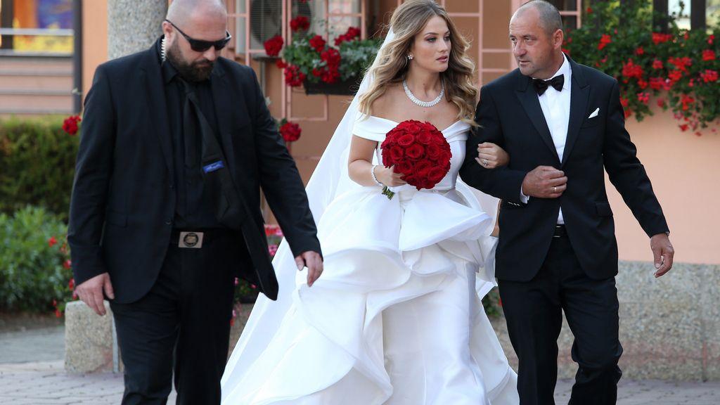 Mateo Kovacic se casa con Aizabel Andrijanic, su novia de toda la vida, en Croacia