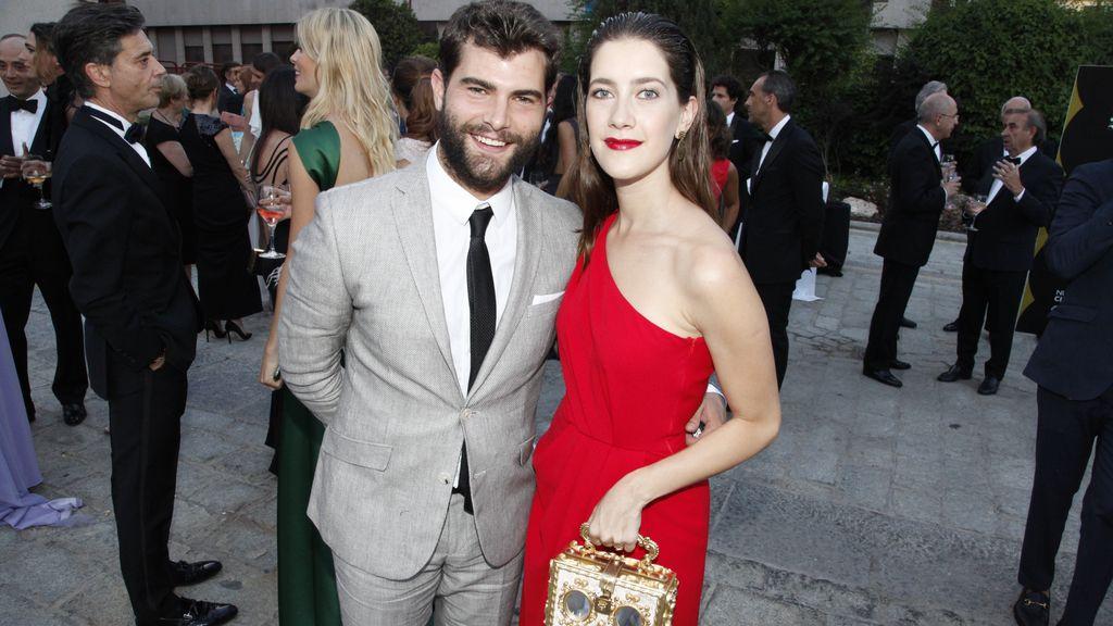 Diego Domínguez y Clara Alonso