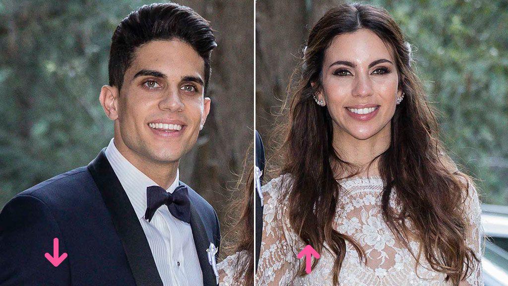 Aciertos y errores en la boda de Melissa Jiménez y Marc Bartra