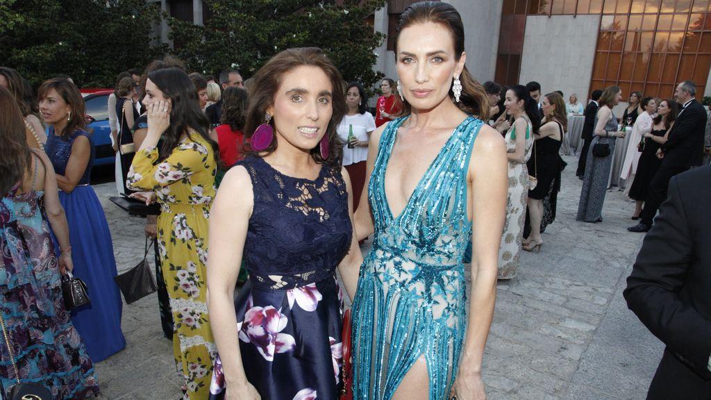 Paloma Segrelles y Nieves Álvarez