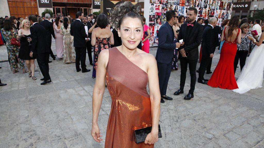Mariola Fuentes fue premiada en esta XII edición de los premios Yo Dona