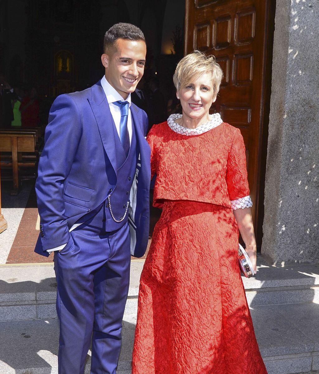 Macarena Jiménez y Lucas Vázquez se dan el 'sí, quiero' tras cuatros de amor