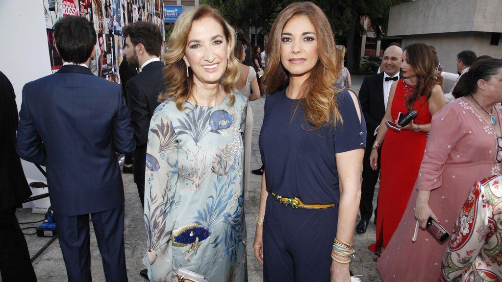 Marta Michel, directora de Yo Dona, junto a Mariló Montero