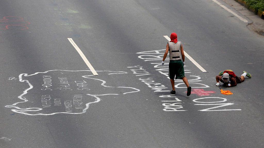Protestas en Venezuela contra el Gobierno de Nicolás Maduro