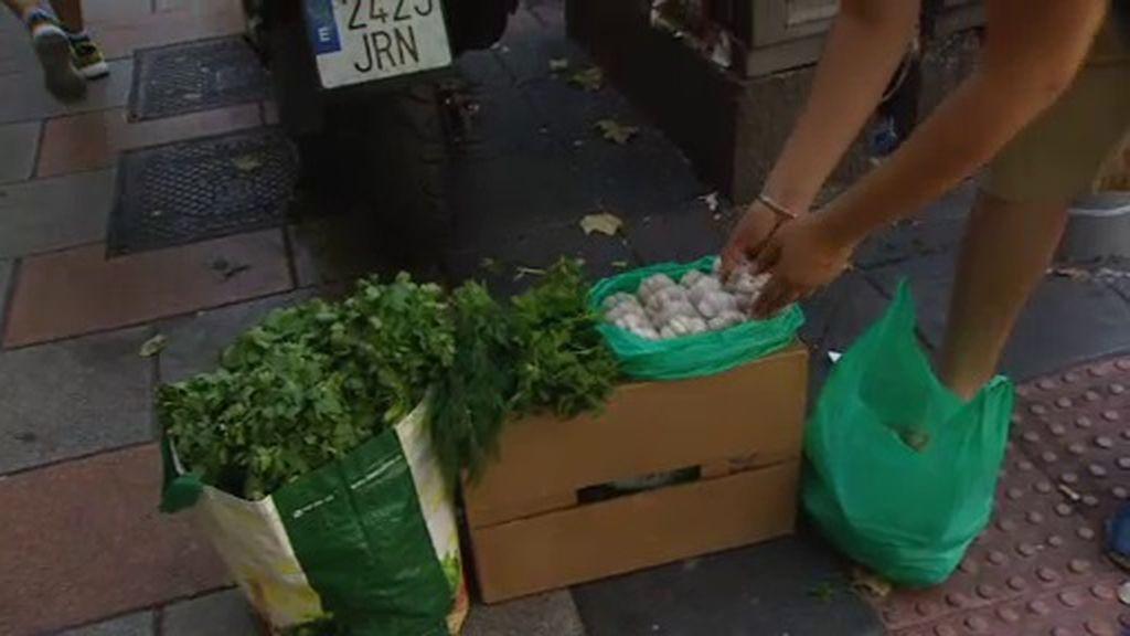 Comerciantes contra vendedores ambulantes en Madrid