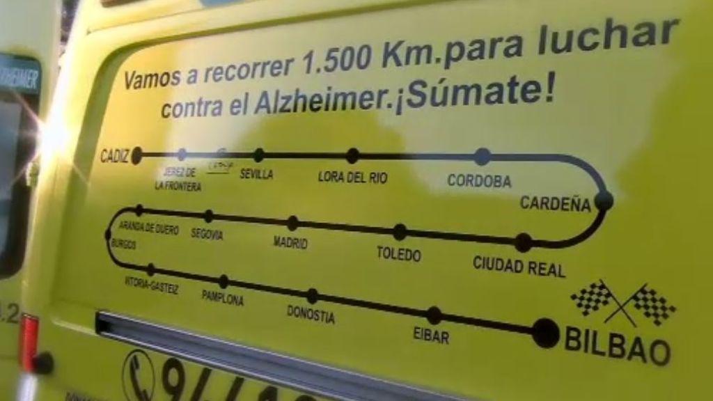 1500 kilómetros contra el Alzheimer