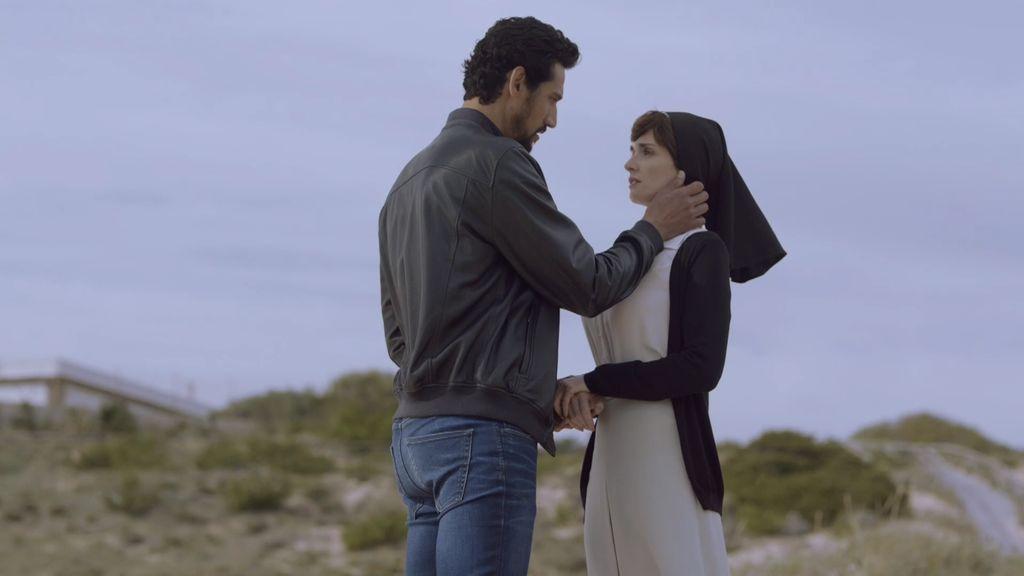 El momento mágico de Lucía y Bruno... interrumpido por un disparo
