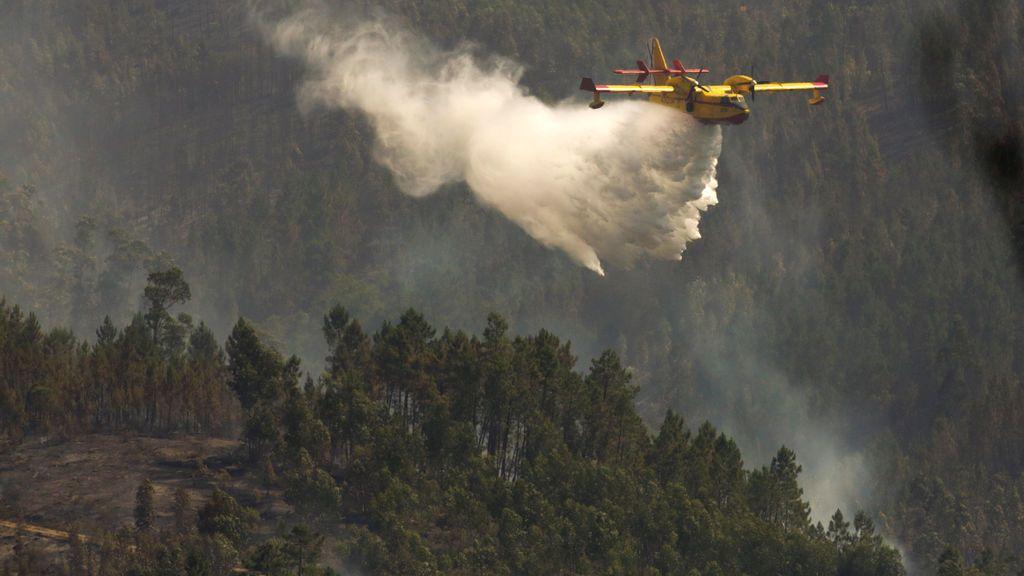 Los bomberos de Portugal creen que el incendio fue provocado