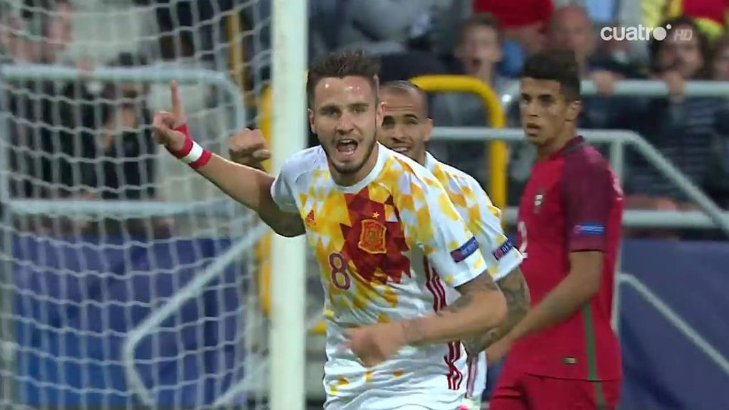 ¿Es Messi o Saúl Ñíguez? Se va de cuatro y marca un golazo desde la frontal del área (0-1)